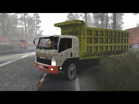 Dump Truck Isuzu Mengantar Pasir - Euro Truck Simulator 2 #17