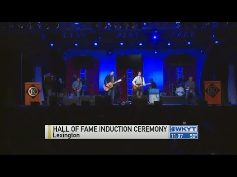Kentucky Music Hall of Fame Inductees honored Friday