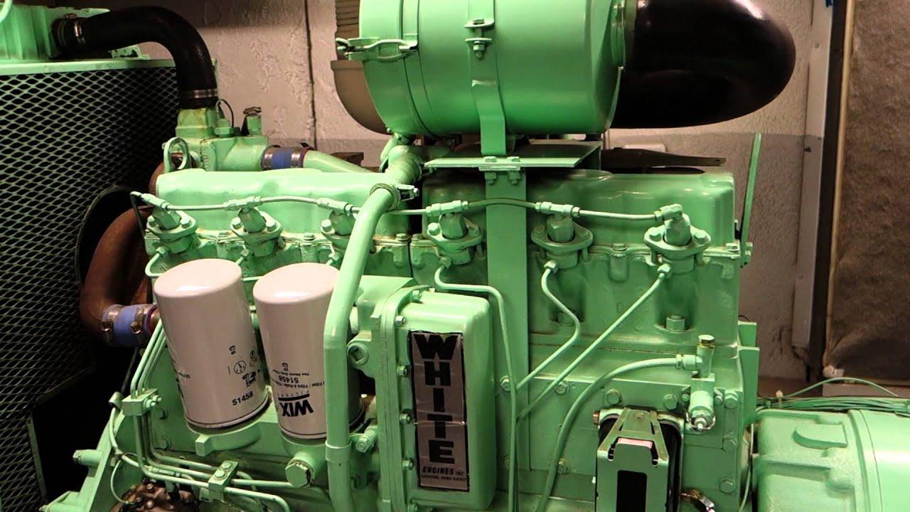 Loadbanking a 135KW White Hercules Turbo Diesel Generator