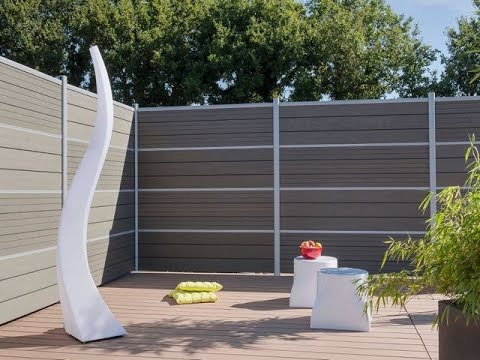 Plastic Wood Fence Panel Fire Retardant Youtube