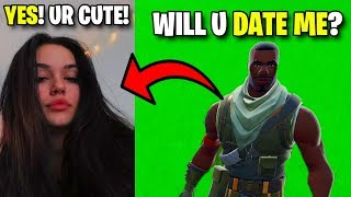 I Helped Him Date His Crush On Fortnite..