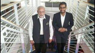 Narendra Modi with Sundar Pichai, bond between India and Silicon Valley