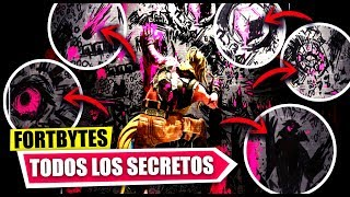 NOUVELLES MESSAGES HIDDEN ET SECRETS -FORTBYTESMD MYSTERIES FORTNITE BATTLE ROYALE
