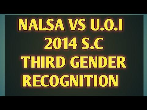 NALSA vs U.O.I