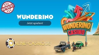 Wunderino Casino Test 🥇 Vorschau + Infos   Online-Casino.de