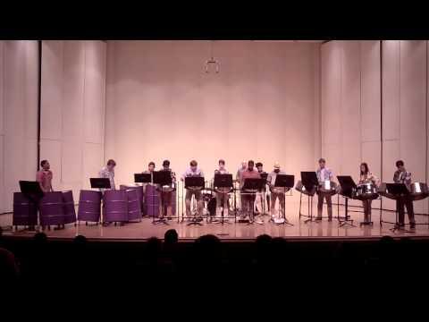 Stephen F. Austin State University Steel Band Concert - Spring 2015