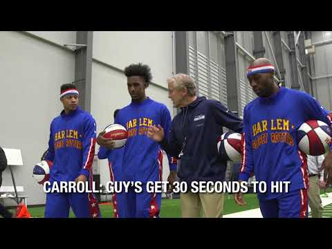 Getting Tricky with the Seattle Seahawks | Harlem Globetrotters