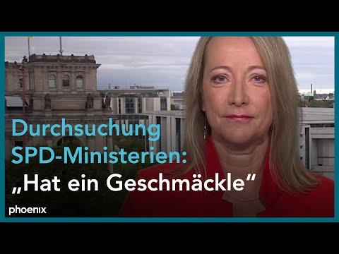 phoenix nachgefragt mit Cerstin Gammelin (Süddeutsche Zeitung) am 17.09.21