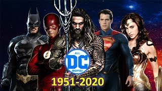 ALL DC Movies (1951-2020)