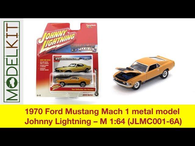 1970 Ford Mustang Mach 1 Metal Model Johnny Lightning M 64 Jlmc001 6a Modelkit Eu You