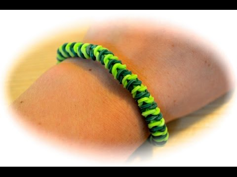 rainbow loom raupen armband deutsche anleitung youtube. Black Bedroom Furniture Sets. Home Design Ideas