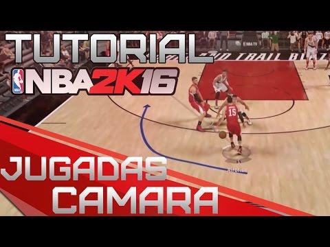 NBA 2K16 TUTORIAL - Cambiar Cámara y Mostrar Jugadas