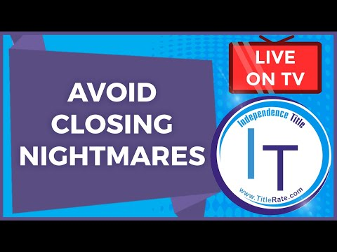 Avoid Closing Nightmares at the Distressed REIA