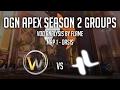 Match Analysis - LW Blue vs Lunatic Hai - APEX Season 2 Groups - Map 1 Oasis