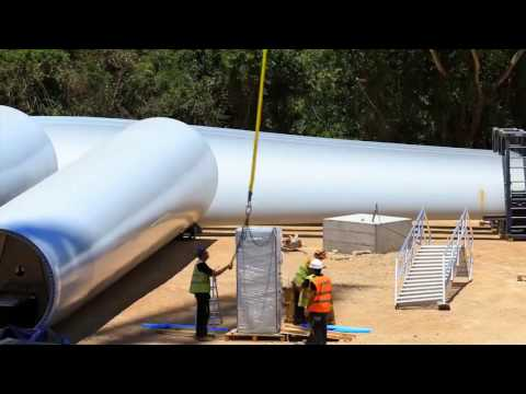 Construction of the Largest Wind Farm in Southeast Asia 1