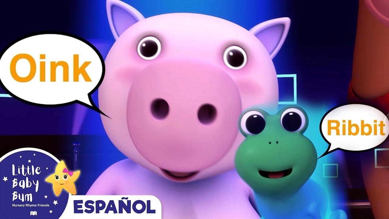 la cancin de los sonidos de los animales canciones infantiles youtube