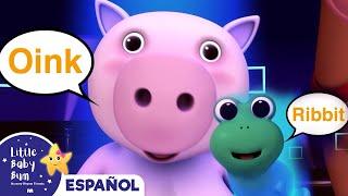 La canción de los sonidos de los animales | Canciones infantiles | LittleBabyBum thumbnail