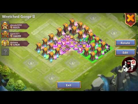 Castle Clash Gorge 2 JOIN Dragon.balls ... This Is How We Roll In Gorge