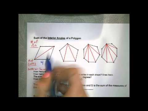 ACE Geo #18: Polygons & Internal Angles