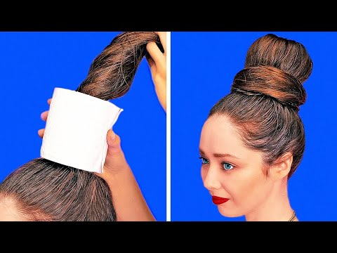31 UNEXPECTED BEAUTY HACKS || Girly Tips And Tricks || Makeup Ideas And Clothes Recycling DIYs