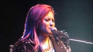 Demi Lovato - Warrior LIVE - Nashville | 3.29.14 {also a speech at beginning}