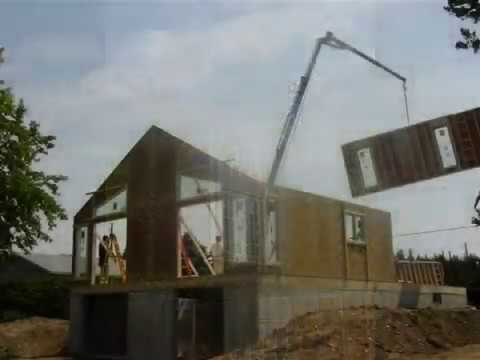 Arcanna Home Builders Panelized Construction Process