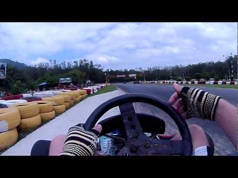 Phuket Go-Karts 125cc 2 Stroke Drifting Pt1