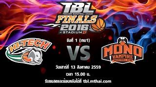 hitech vs mono vampire aug 13 2016 thailand basketball league tbl 2016 finals game 1