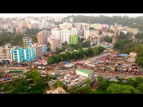 Bird Eye Chittagong City, Flyover.