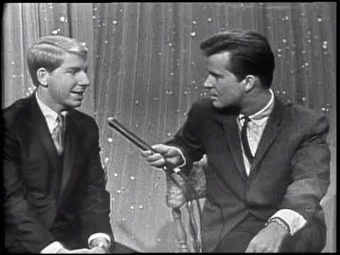 American Bandstand 1964- Interview Jimmy Boyd