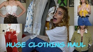 HUGE TRY ON CLOTHING HAUL!! Urban Outfitters, Free People, etc!