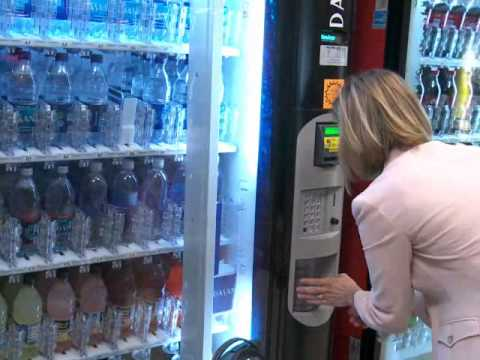 cashless vending solution