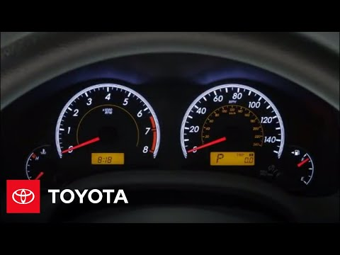 Reset Maintenance Light Toyota Camry 2012 >> 2011 Toyota Corolla Reset Maintenance Required Light | Doovi