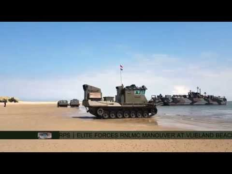Beachlanding at Vlieland by Royal Netherlands Marine Corps |