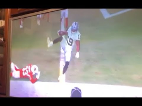 Derek Carr To Ryan Grant TD Pass Raiders Vs Cardinals 2019 NFL Preseason Play Analysis