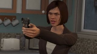 GTA V: Trevor Kills Floyd And Debra