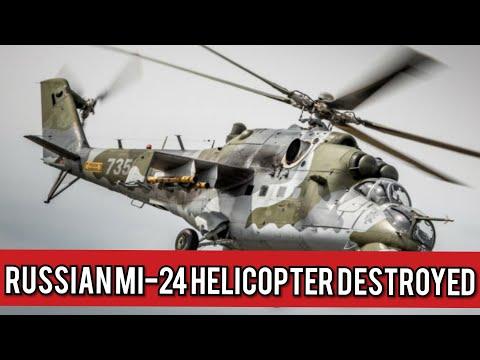 Azerbaijan Shoots Down Russian Mi-24 Helicopter
