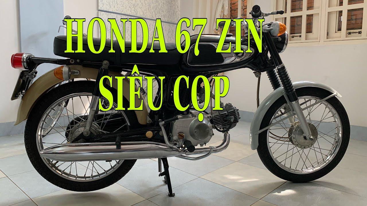 Honda 67 | Lịch sử dòng Honda 67 | Xe Honda 67 zin nhất Việt Nam cho tới thời điểm này | ホンダSS50