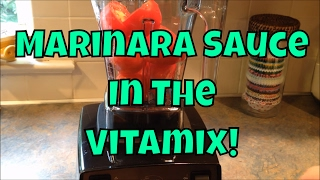 Marinara Sauce Recipe in the Vitamix - Fast and Easy!