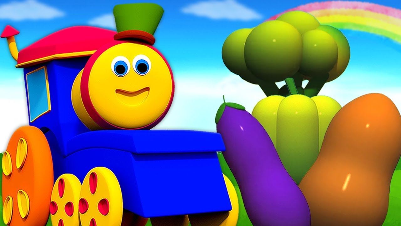 Bob sebze treni | bob tren | Bob Vegetables Train | Kids tv Türkçe | Bebek Şarkıları Çizgi Film