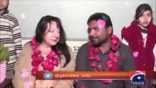 Romance across borders, Canadian woman marries Pakistani she met online