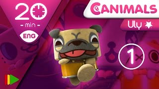 Canimals Collection 04 Uly 1 Full episodes for kids 20 minutes