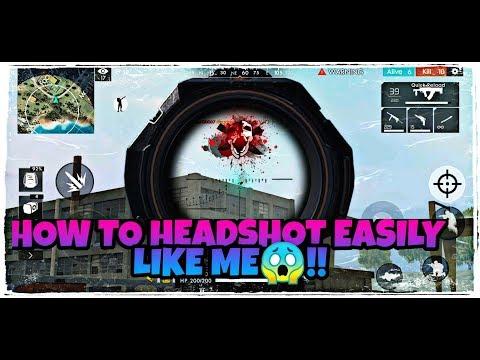 HOW TO HEADSHOT EASILY LIKE ME🔥🔥!! Free Fire Battlegrounds !!!