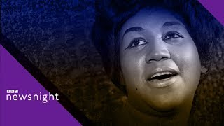 Aretha Franklin remembered - BBC Newsnight
