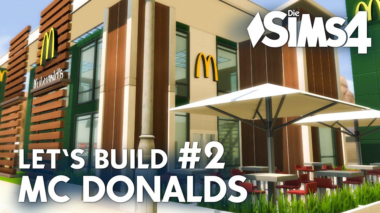 Mcdonald 39 s bauen 2 die sims 4 let 39 s build zum for Sims 4 dach bauen