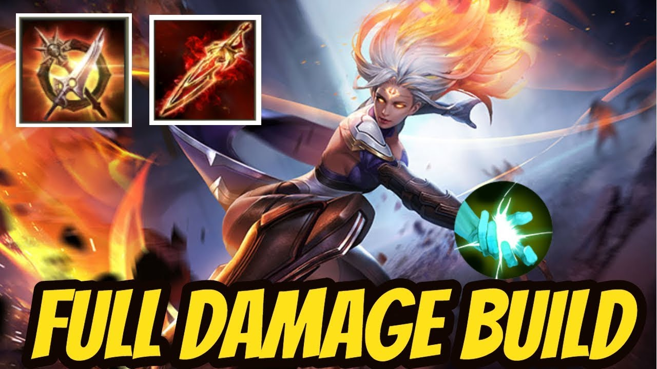 AMILY FULL DAMAGE BUILD | Arena of Valor Amily Gameplay - Lien Quan Amily -  Rov Amily
