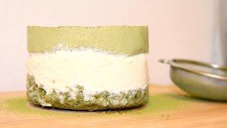 Торт матча с кокосом /  Coconut Matcha Cake
