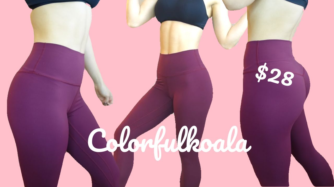 d6a4c3acf9050 THE LULULEMON ALIGN DUPE WE'VE ALL BEEN WAITING FOR | Colorfulkoala Review