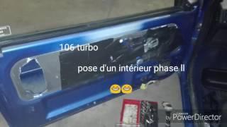 Intérieur phase ll dans la 106 turbo 😎