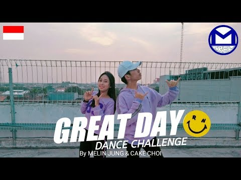 RANZ & NIANA GREAT DAY CHALLENGE #GreatDayChallenge | Cover By CAKE CHOI & MELIN JUNG